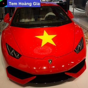 in decal tại Long An